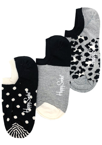 Ladies Leo 3 Pack Liner Socks