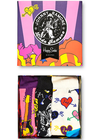 Linda and Johnny Ramone 3PK Gift Box Set