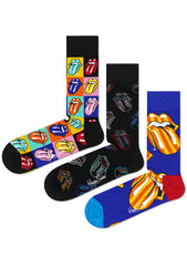 Rolling Stones Socks 2nd Edition 3PK Gift Set