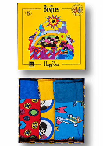 Happy Socks The Beatles 2nd Edition 3PK Gift Set