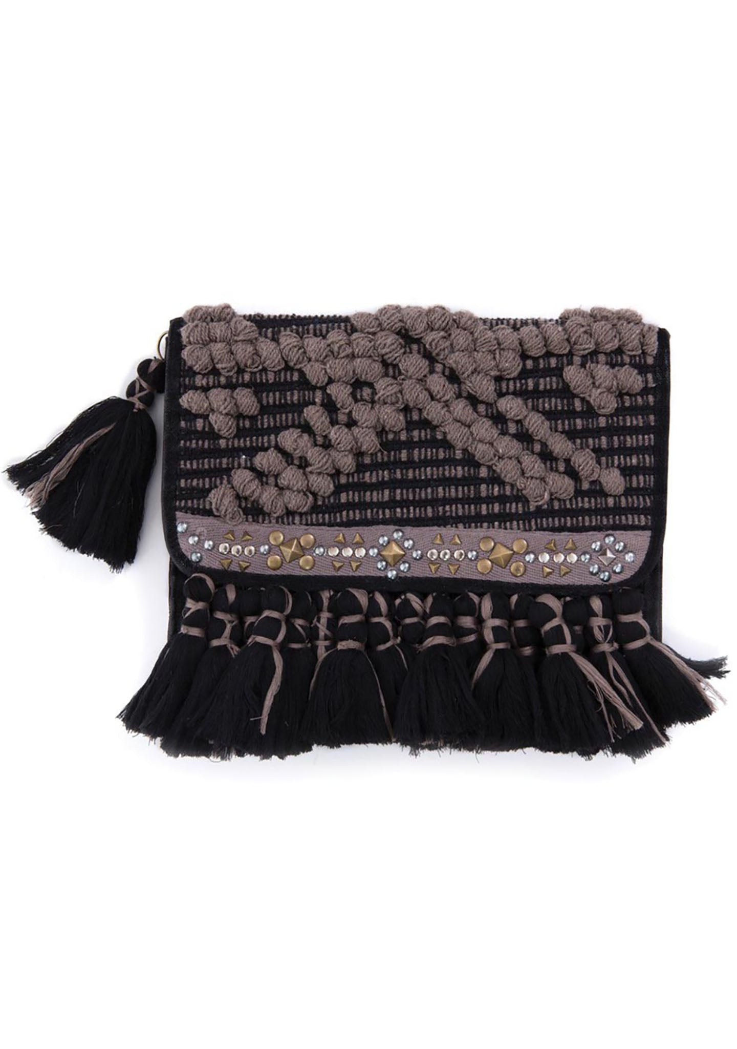 HIPANEMA X AMENAPIH Philly Woven Clutch Purse