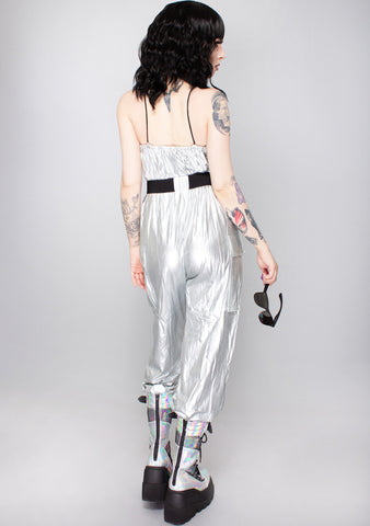 Future Club Buckle Belt Jumpsuit