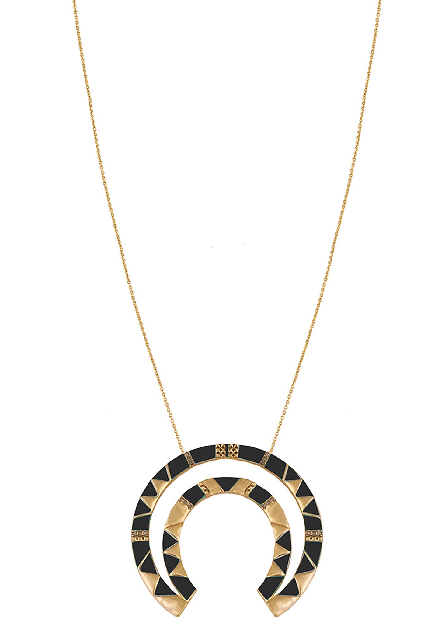 House of harlow 1960 shop house of harlow 1960 nelli pendant house of harlow 1960 nelli pendant necklace in goldblack mozeypictures Image collections