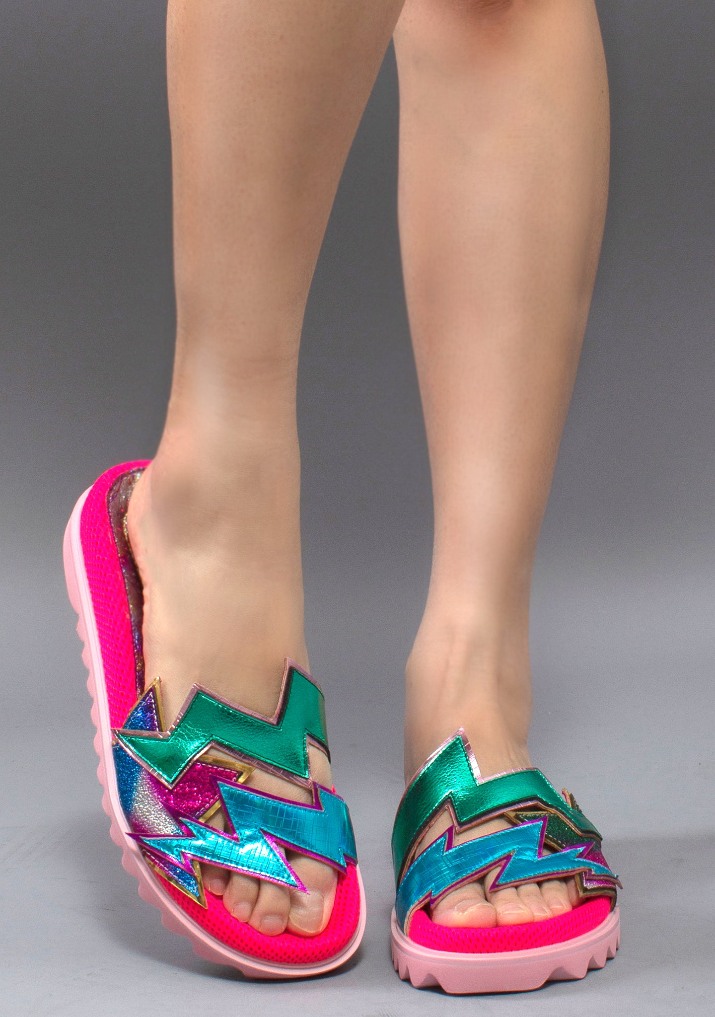 Irregular Choice Electric Thunderbolt Slippers