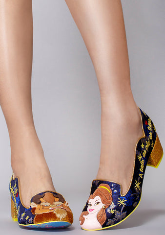X Disney Beauty and the Beast As Old As Time Heels