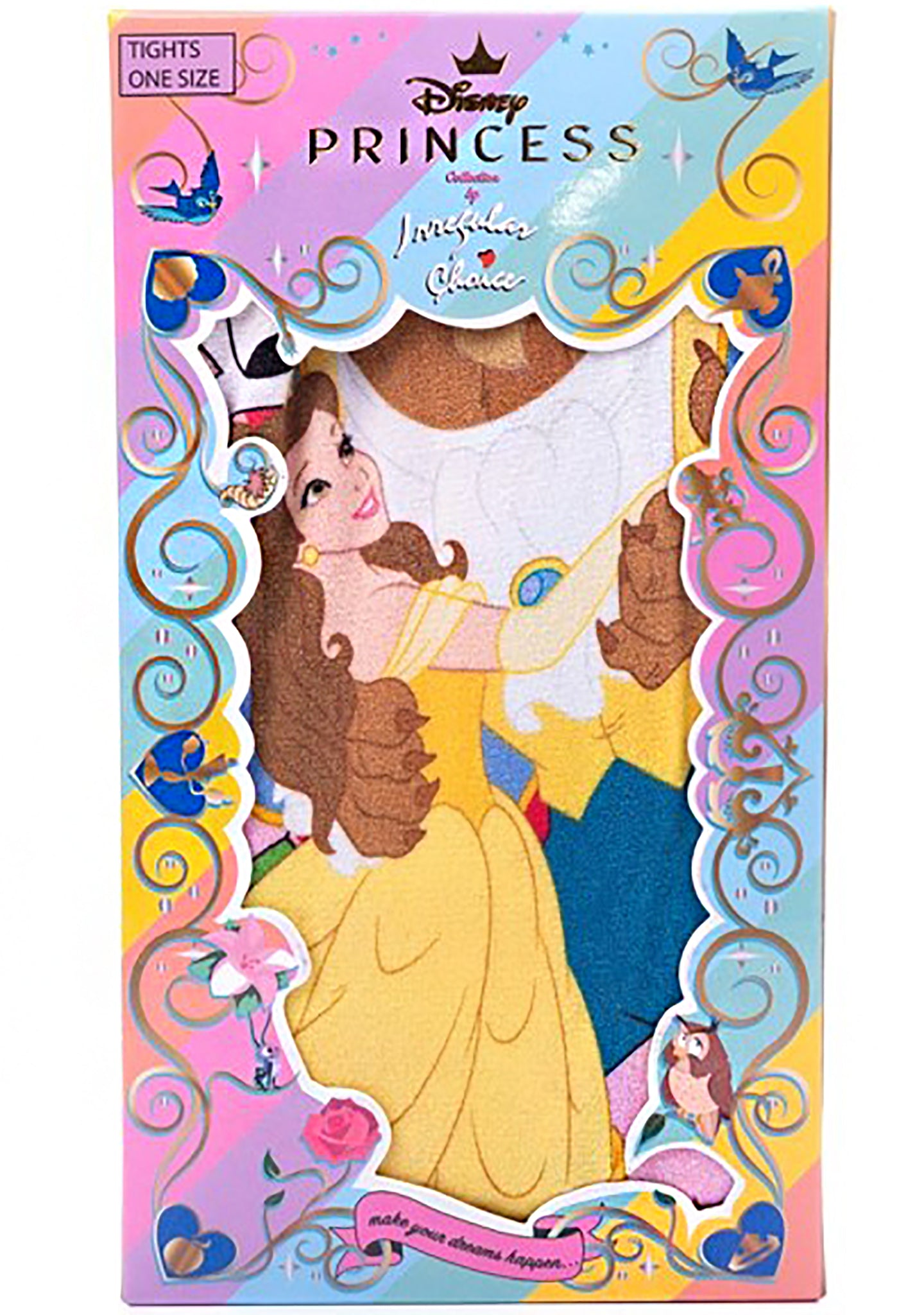 X Disney Beauty and the Beast As Old As Time Tights