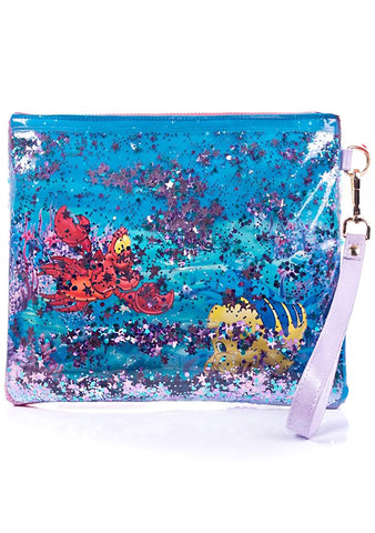 X Disney Little Mermaid Just Me and the Sea Pouch