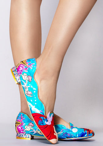 X Disney Little Mermaid Seaside Cutie Flats