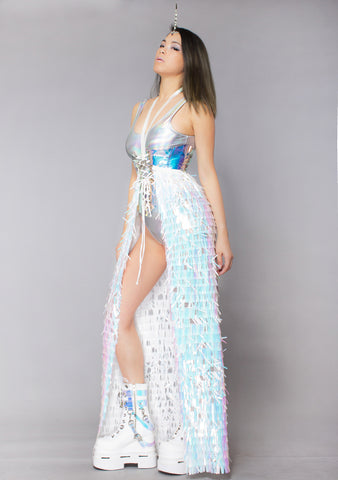 Feisty Unicorn Blade Sequin Harness Gypsy Skirt