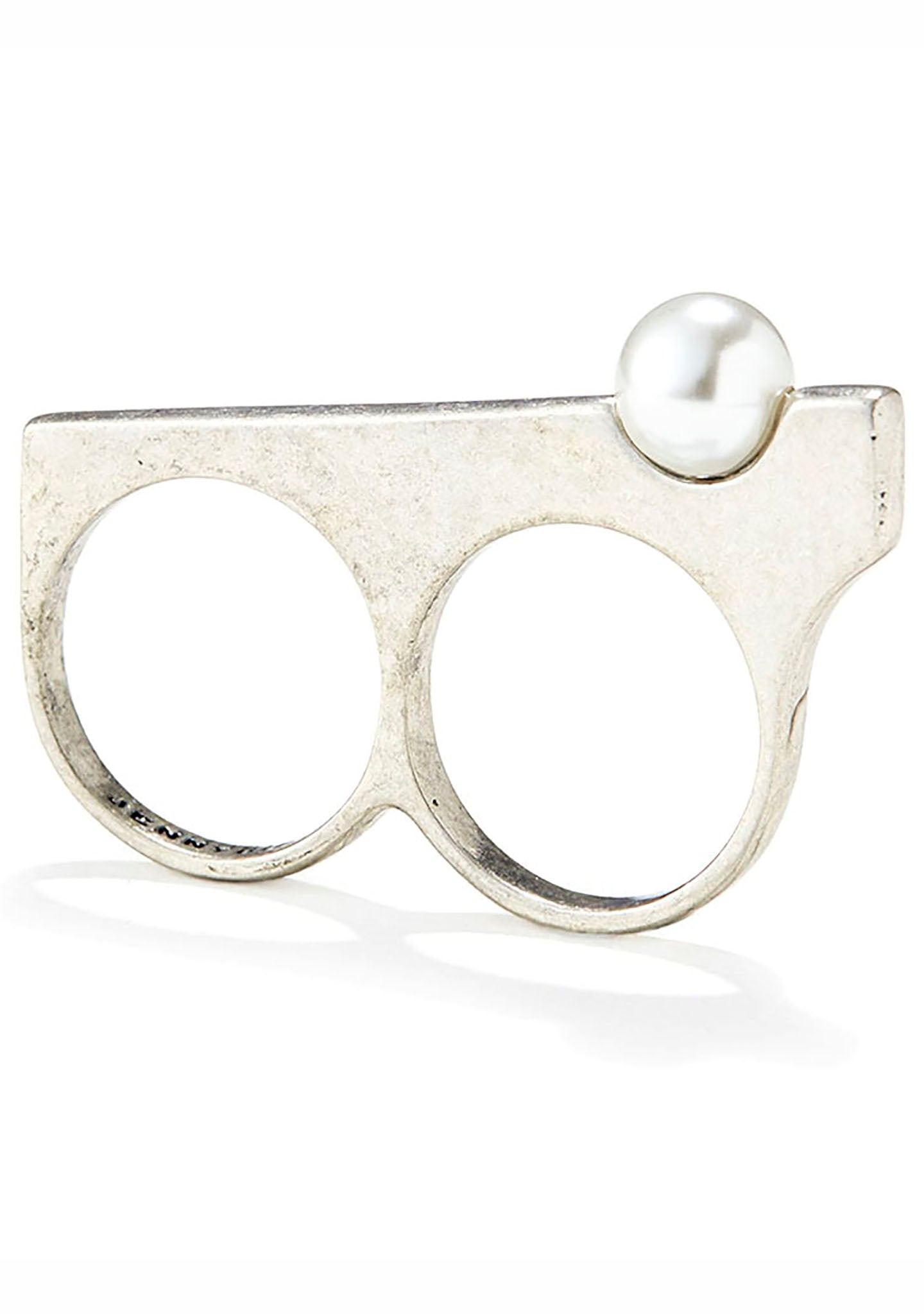 Jenny Bird Maigret Double Ring in Silver