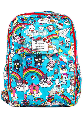 X Tokidoki Hello Sanrio Rainbow Dreams Mini Be Backpack