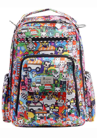 X Tokidoki Sushi Cars Be Right Back Backpack