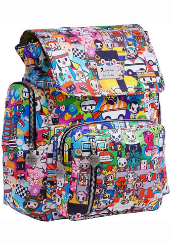X Tokidoki Sushi Cars Be Sporty Backpack