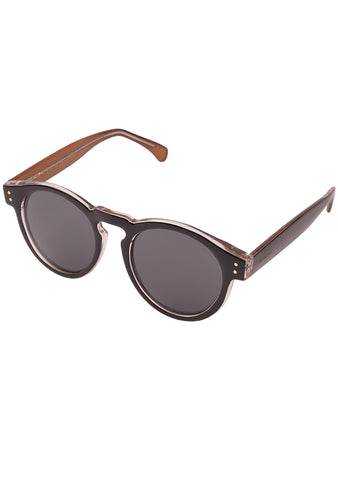 KOMONO Clement Sunglasses in Black Apricot