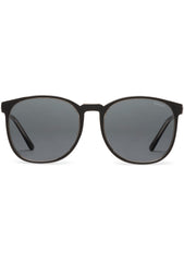 KOMONO Urkel Sunglasses in Black/Clementine