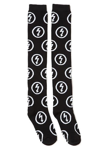 KILL STAR X Marilyn Manson Bolt Superstar Long Socks