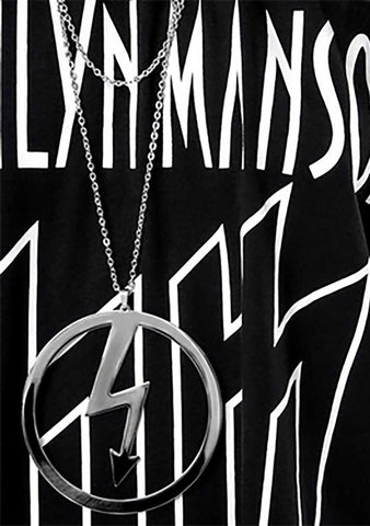 KILL STAR X Marilyn Manson Number 7 Necklace