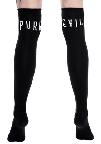 KILL STAR Purr Evil Long Socks