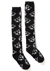KILL STAR Salem Over The Knee Socks
