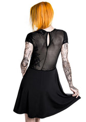 KILL STAR Show Me Your Kitties Mesh Yoke Dress