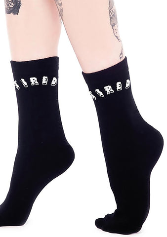 KILL STAR Tired Ankle Socks