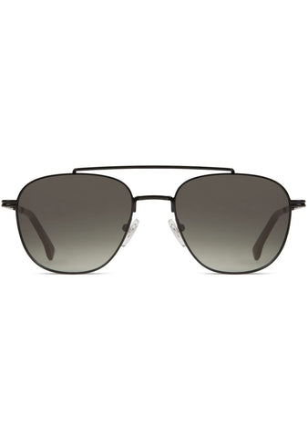 KOMONO CRAFTED Alex Sunglasses in Black/Green