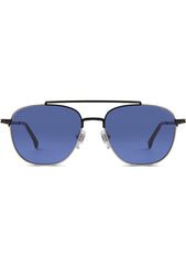 KOMONO CRAFTED Alex Sunglasses in Marine