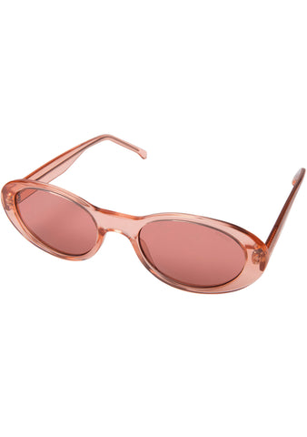 KOMONO Alina Sunglasses in Peach