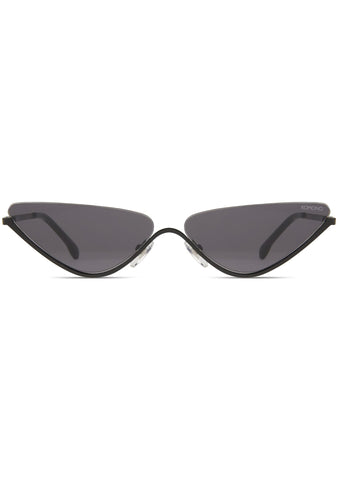 KOMONO Ash Sunglasses in All Black
