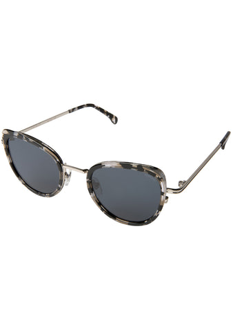 KOMONO CRAFTED Billie Sunglasses in Clear Demi