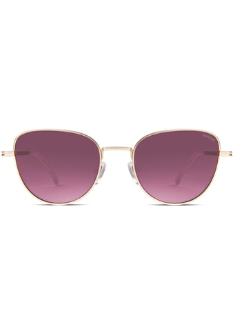KOMONO CRAFTED Chloe Sunglasses in Purple Rain