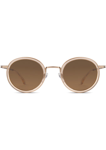 KOMONO CRAFTED Clovis Sunglasses in Champagne