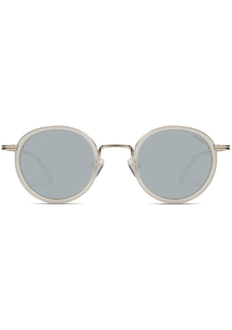 KOMONO CRAFTED Clovis Sunglasses in Frosted