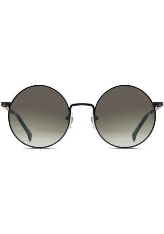 KOMONO CRAFTED Lennon Sunglasses in Black Green