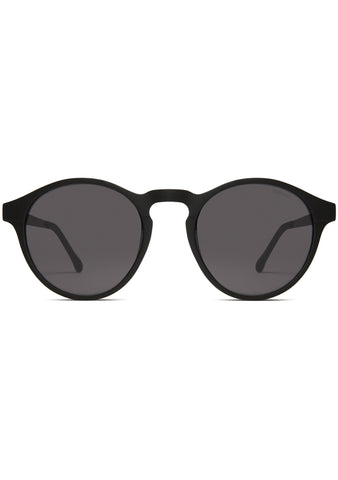 KOMONO Devon Sunglasses in Metal Black