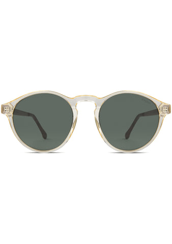 KOMONO Devon Sunglasses in Metal Prosecco