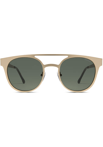 KOMONO Finley Sunglasses in White Gold