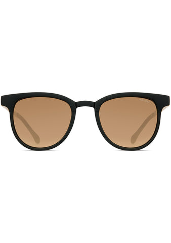 KOMONO Francis Metal Series Sunglasses in Black/Gold
