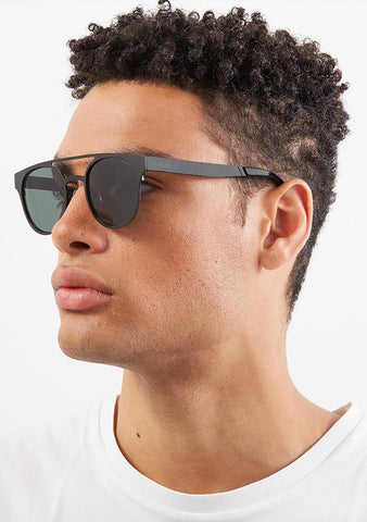 KOMONO Harper Sunglasses in Metal Black