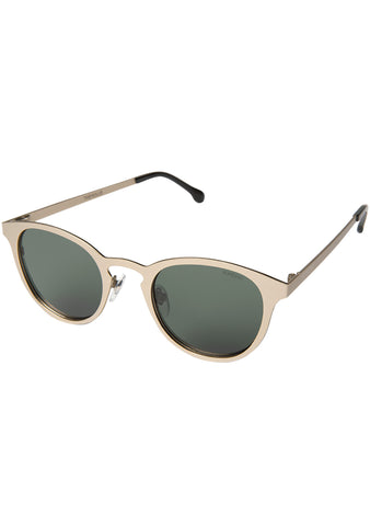 KOMONO Hollis Sunglasses in White Gold
