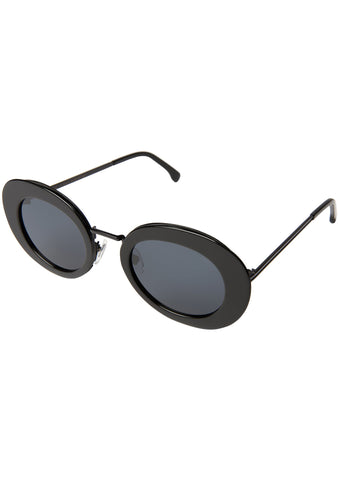 KOMONO CRAFTED Kandice Sunglasses in Black