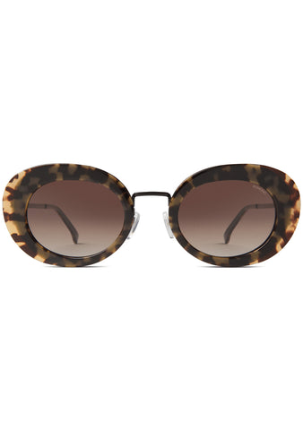 KOMONO CRAFTED Kandice Sunglasses in Tortoise Black