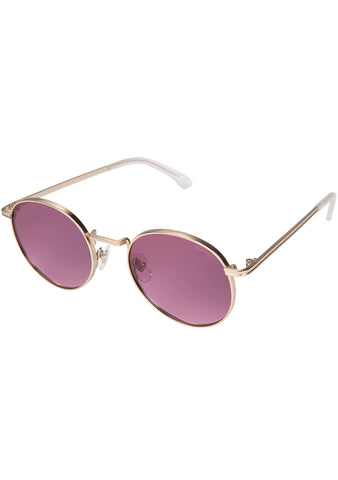 KOMONO CRAFTED Lennon Sunglasses in Purple Rain