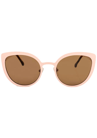 KOMONO Logan Sunglasses in Blush
