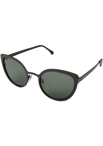 KOMONO Logan Sunglasses in Matte Black