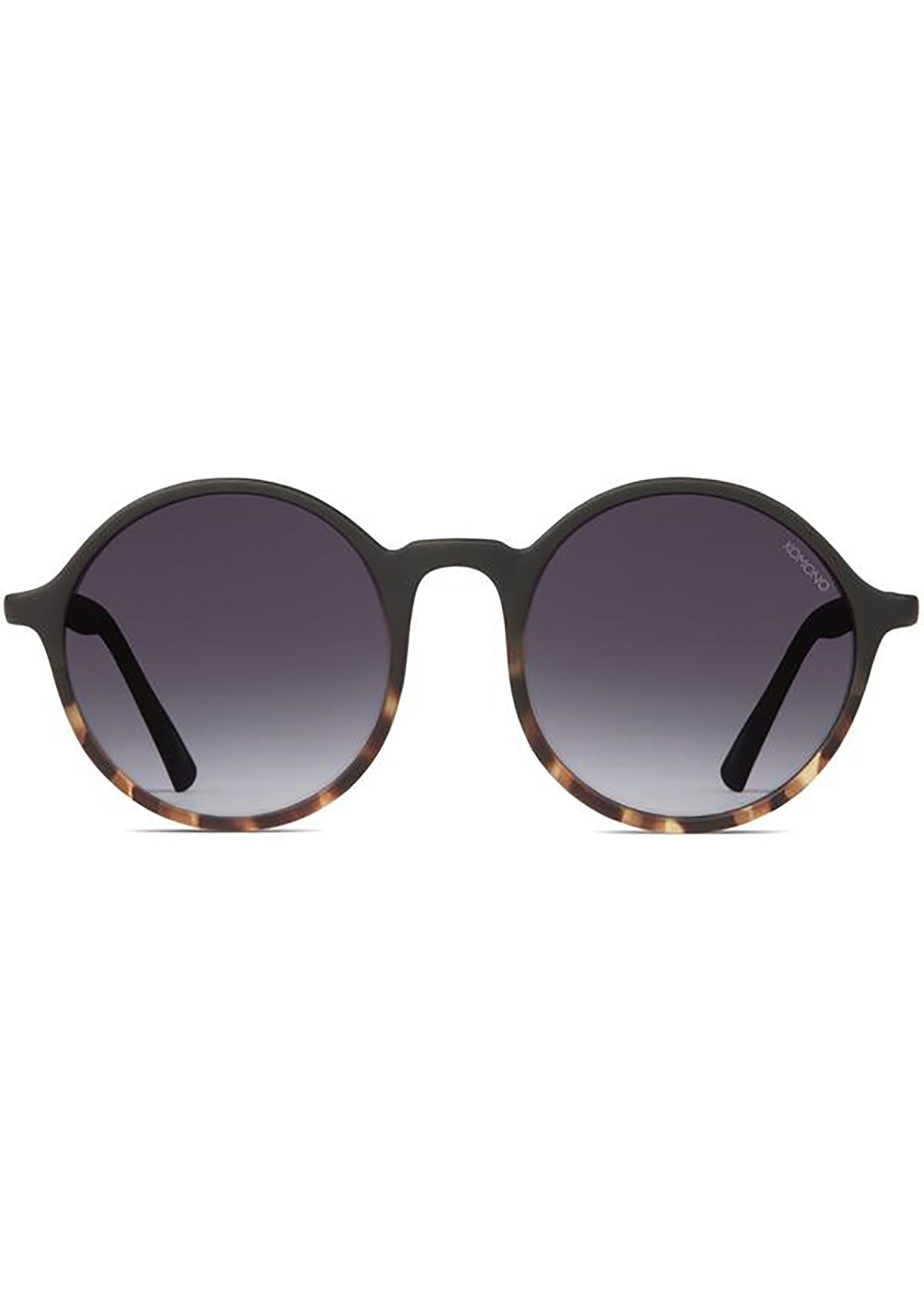 KOMONO Madison Sunglasses in Matte Black/Tortoise