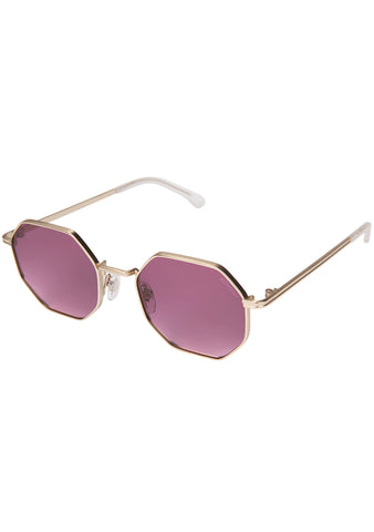 KOMONO CRAFTED Monroe Sunglasses in Purple Rain