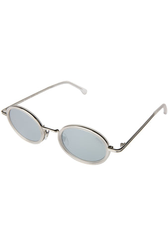 KOMONO CRAFTED Robyn Sunglasses in Frosted