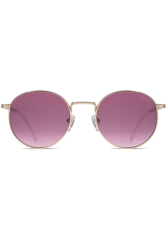 KOMONO CRAFTED Taylor Sunglasses in Purple Rain