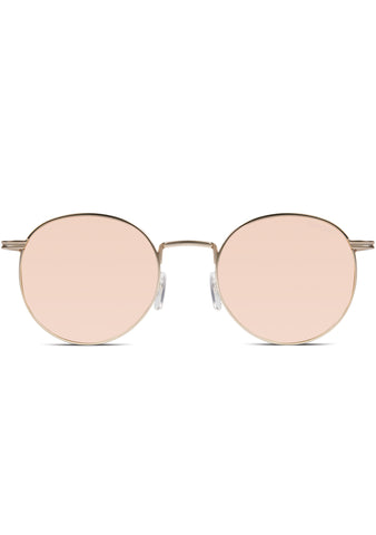 Crafted Taylor Sunglasses in Rose Gold